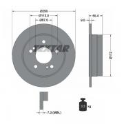 92059503 Disco de Freno  Posterior Sólido