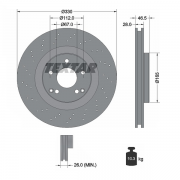 92119803 Disco de Freno  Delantero Ventilado / Perforado