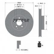 92171905 Disco de Freno  Delantero Ventilado / Perforado