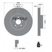 92176405 Disco de Freno  Delantero Ventilado / Perforado